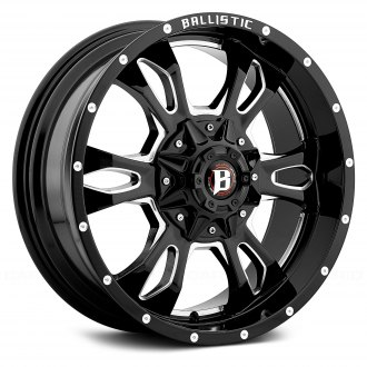 BALLISTIC® - 957 MACE Gloss Black with Milled Accents