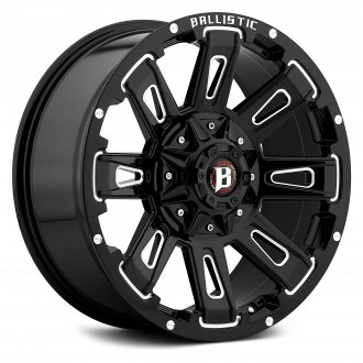 BALLISTIC® - 958 RAVAGE Gloss Black with Milled Accents