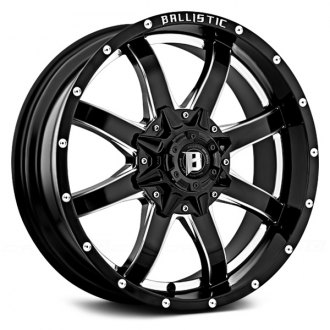 BALLISTIC® - ANVIL Gloss Black with Milled Window