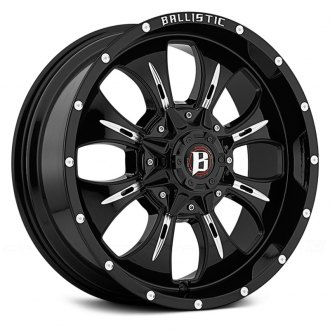 BALLISTIC® - DAGGER Gloss Black with Milled Accents