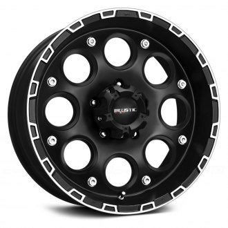 BALLISTIC® - ENIGMA Flat Black with Machined Accents