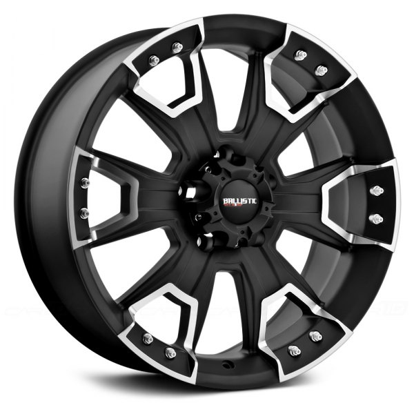 BALLISTIC® - HAVOC Flat Black with Machined Accents