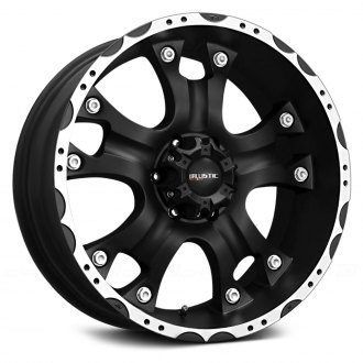 BALLISTIC® - HOSTEL Flat Black with Machined Flange