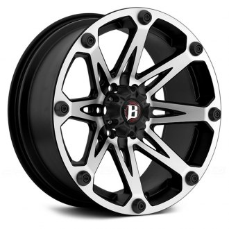 BALLISTIC® - JESTER Flat Black with Machined Face