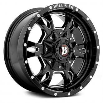 BALLISTIC® - MACE Gloss Black with Milled Accents