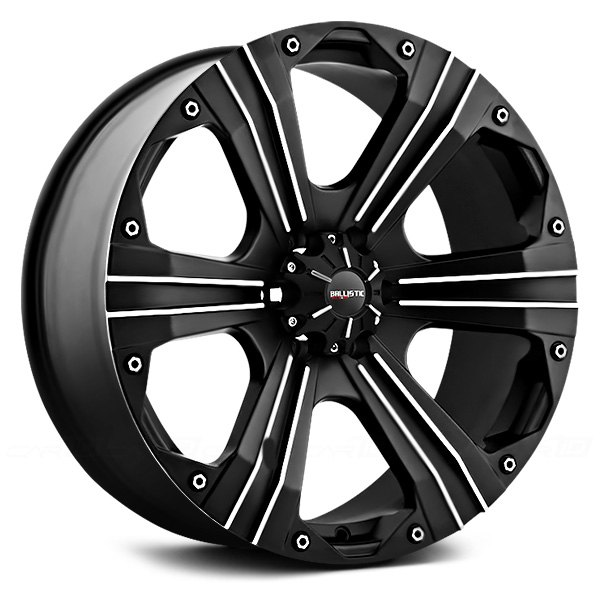 BALLISTIC® - OUTLAW Flat Black with Machined Accents