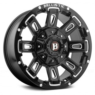 BALLISTIC® - RAVAGE Gloss Black with Milled Accents