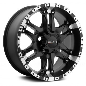 BALLISTIC® - WIZARD Flat Black with Machined Flange