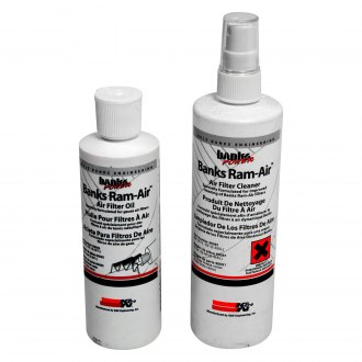 Banks® - Air Filter Cleaning Kit (12 oz Cleaner, 8 oz Oil)