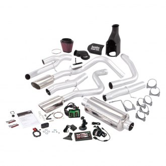 Banks® - Stinger™ Stainless Steel Single Exhaust System with Dual Rear Exit
