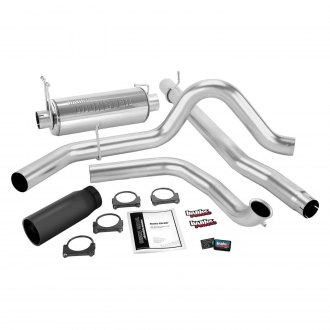 Banks® - Git-Kit™ Exhaust System with Black Tip