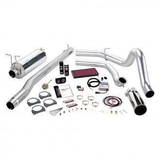 Banks® - Stinger™ Stainless Steel Single Exhaust System with Single Side Exit