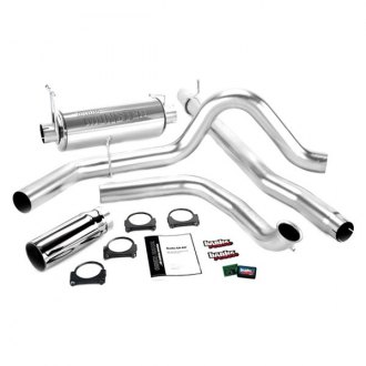 Banks® - Git-Kit™ Stainless Steel Single Exhaust System with Single Side Exit