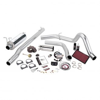 Banks® - Stinger-Plus™ Stainless Steel Single Exhaust System with Single Side Exit