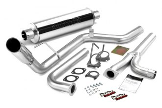 Banks® 48125 - Monster™ Cat-Back Exhaust System (Single Side Exit)