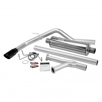 Banks® - Monster™ Stainless Steel Single Cat-Back Exhaust System with Single Side Exit