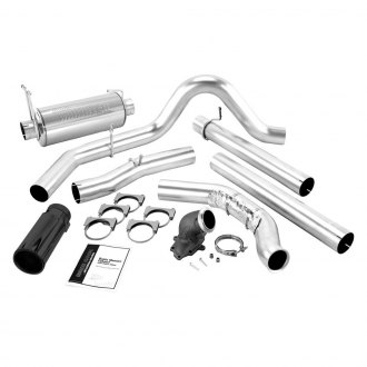 Banks® - Monster™ Stainless Steel Single Turbo-Back Exhaust System with Single Side Exit