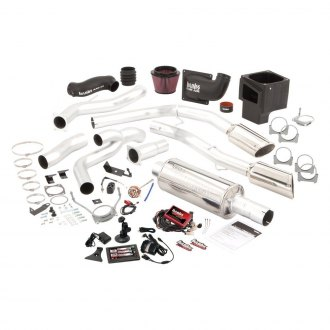 Banks® - Six-Gun™ Stainless Steel Single Exhaust System with Dual Side Exit