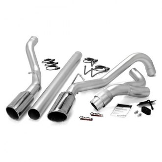 Banks® - Monster™ Stainless Steel DPF-Back Exhaust System with Dual Side Exit