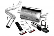 "Banks® - Monster™ Axle-Back Exhaust System (2.5"" Stainless Steel Tailpipe Tip)"