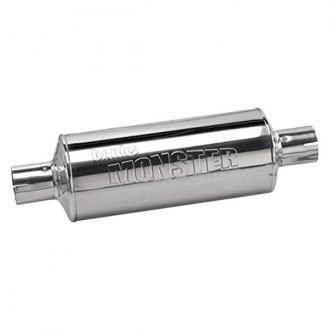"Banks® - Monster™ Stainless Steel Oval Exhaust Muffler (2.5"" Center ID, 3.5"" Center OD)"