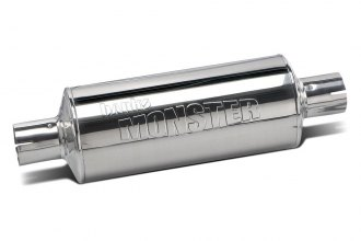 Banks® - Monster™ Stainless Steel Round Muffler