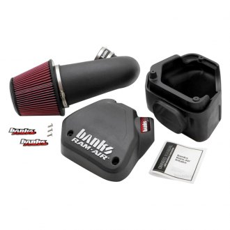 Banks® - Plastic Black Short Ram Air Intake System