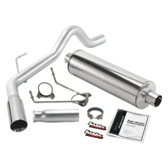 Banks® - Monster™ Stainless Steel Single Cat-Back Exhaust System