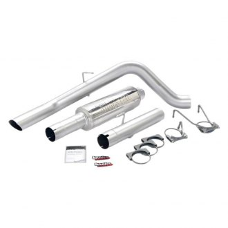 Banks® - Monster™ Stainless Steel Sport Cat-Back Exhaust System with Single Side Exit