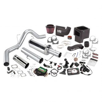 Banks® - Stinger™ Stainless Steel Single Exhaust System with Dual Side Exit
