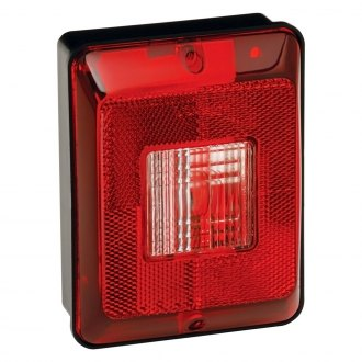 Bargman® - 86 Series Single Vertical Tail Light with Black Base