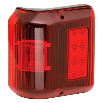 Bargman® - 86 Series Wrap-Around LED Side Marker Clearance Light with Black Base