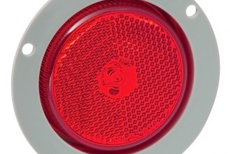 Bargman® - Red Round LED Clearance Light with Mounting Flange