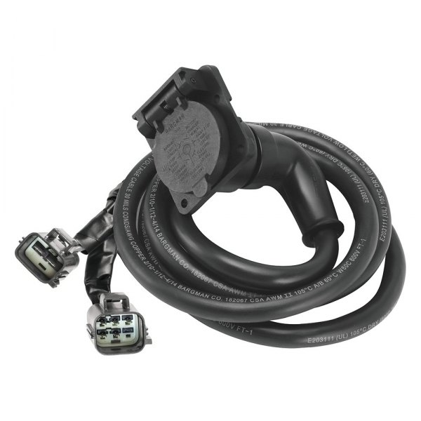 Bargman® - 7' 90 Degrees 5th Wheel and Gooseneck Adapter Harness