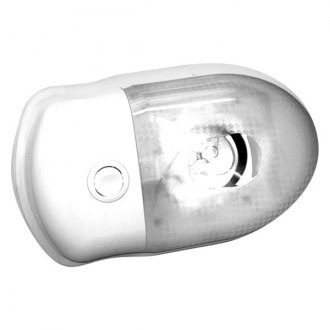 Bargman® - 76 Series Single Interior Light with Lens and Switch