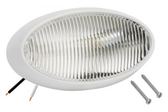 Bargman® - 79 Series Clear Porch Light with White 5 Series Base