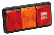 Bargman® - 84 Series Recessed Triple Tail Light