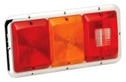 Bargman® - 85 Series Recessed Triple Tail Light
