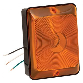 Bargman® - 86 Series Single Front Amber Turn Tail Light