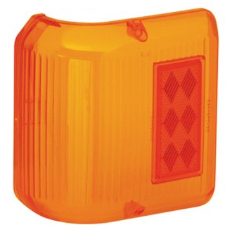 Bargman® - 86 Series Wrap-Around Amber Side Marker Clearance Light Lens