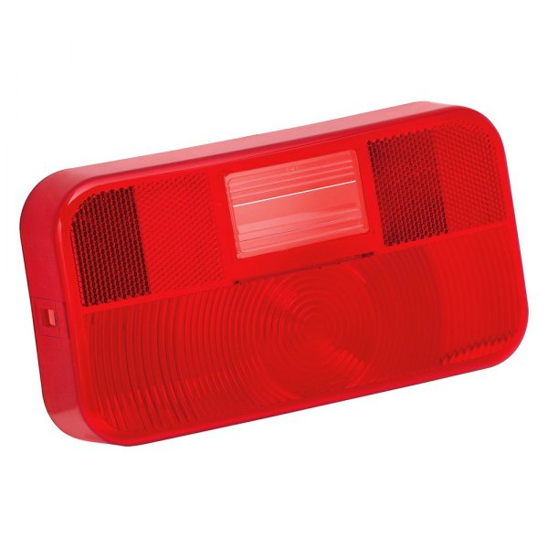 Bargman® - 92 Series Red Tail Light Lens with Backup