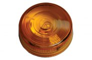 Bargman® - Self-Grounding Amber Clearance Light with Single Black Wire