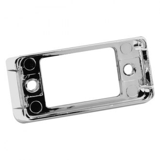 Bargman® - 2 Snap-Lock Open-Back Chrome Clearance Light Base