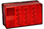 Bargman® - 4x6 LED Low Profile 8-Function Tail Light