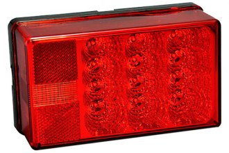 Bargman® - 4x6 Low Profile LED 8-Function Tail Light