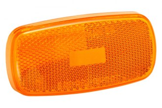 Bargman® 34-59-012 - 59 Series Amber Clearance Light Lens