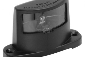 Bargman® 34-62-102 - 62 Series License Light with Black Base