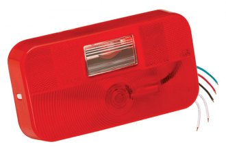 Bargman® - 92 Series Red Tail Light with Backup