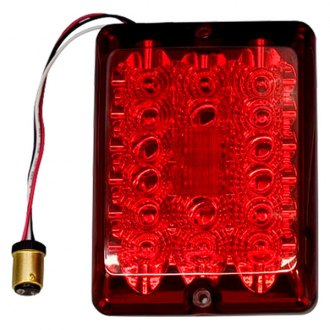 Bargman® - 84 Series LED Red Stop / Tail / Turn Light Upgrade Module with Connector and Lens Screws