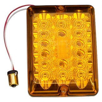 Bargman® - 84 Series LED Amber Turn Light Lens Upgrade Module with Connector and Lens Screws